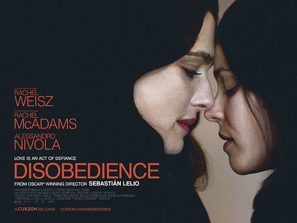 "Film Review: ""Disobedience"" – Hashem Help Me!"